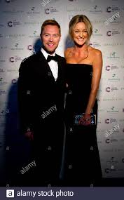 Ronan Keating and Storm Uechtritz attending the Emeralds and Ivy Ball, in  aid of Cancer Research UK, at Supernova in Embankment Gardens, London Stock  Photo - Alamy