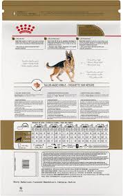 German Shepherd Puppy Food Chart Royal Canin German Shepherd Adult Dry Dog Food 17 Lb Bag