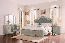 Toulouse Silver Bedroom Furniture Collection For Furnitureusa Col