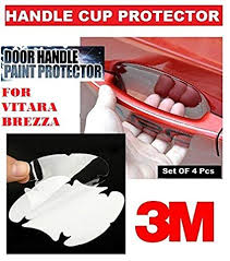 alive traders 3m clear side door handles paint protective film for vitara brezza