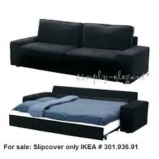 leather sofa bed ikea. Ikea Karlstad Sofa Leather Black Couch Bed Slipcover D