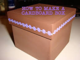 Decorative Gift Boxes With Lids How to Make a Cardboard Box From Recycled Cardboard 100 Steps 46