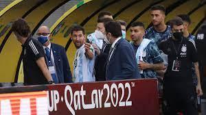 """إنفانتينو يصف ما حدث في مباراة البرازيل والأرجنتين بـ""""الجنون"""""""