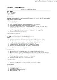 Customer Services Resume Amazing Cashier Customer Service Resume Colbroco