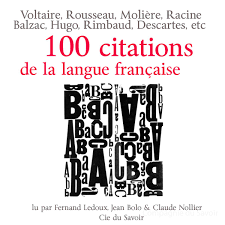 Cent Citations De La Langue Française Audiobook Walmartcom