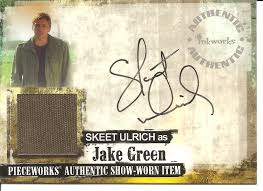 Amazon.com: Jericho Skeet Ulrich as Jake Green Autograph and Pieceworks  Trading Card #PWA1: Everything Else