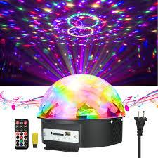 disco lights jelegant dj light led stage light party lights disco ball strobe light crystal magic ball lights sound activated strobe light for wedding