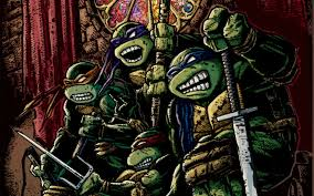 age mutant ninja turtles fantasy sci fi adventure warrior animation action fighting tmnt wallpaper