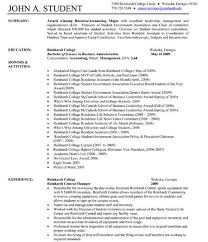 Page Resume Example Vintage One Page Resume Examples Free Career