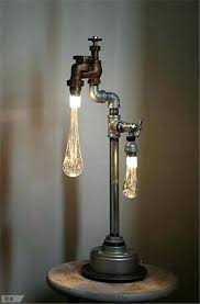 industrial pipe lighting. Iron Pipe Lamp Ad Interesting Industrial Design Ideas Cast Lighting