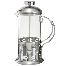 350ml 800ml stainless steel glass cafetiere french filter