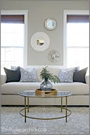 modern when in doubt add some circles homey things round glass table centerpiece ideas