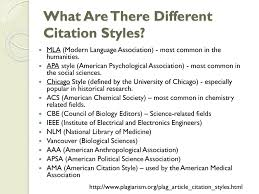 The Conventions Of Citation Ppt Download