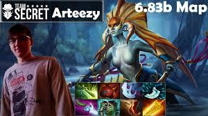 arteezy secret naga siren pro gameplay mmr dota 2 pro