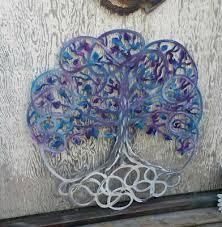 metal wall art tree of life large