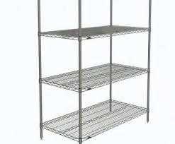 metro erecta chrome wire shelving metro n456c super erecta chrome wire shelf 48