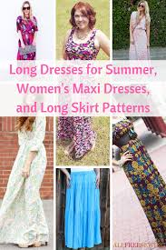 Long Skirt Patterns Unique 48 Long Dresses For Summer Women's Maxi Dresses And Long Skirt