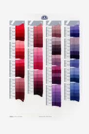 Dmc Tapestry Wool Shade Card