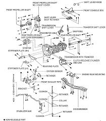 repair guides manual transmission transmission assembly 7 rf150f manual transmission t100