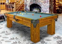 log pool tables