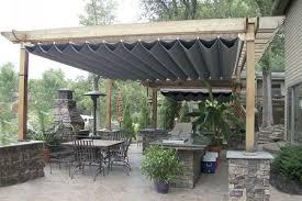 retractable pergola canopy. Pergola Retractable Waterproof Canopy