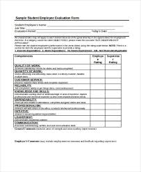 feedback forms for employees 25 free employee evaluation forms