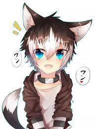 Gacha Life Boy Wolf Brown Hair ...