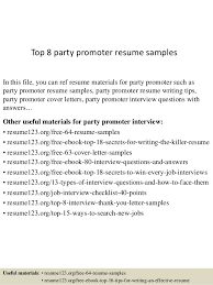 Resume For Interview Sample New Top 48 Party Promoter Resume Samples