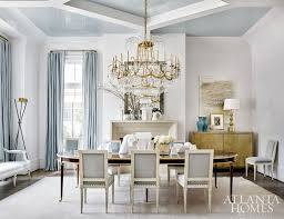 dining room designed by suzanne kasler features lacquered walls suzanne kasler lighting