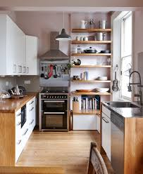 Shiny White Kitchen Cabinets Stainless Steel Shelves Ikea Building Home Oak Wood Island Black