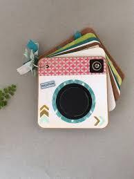 Vacation Albums Travel Mini Photo Album Camera Shaped Vacation Memory Album