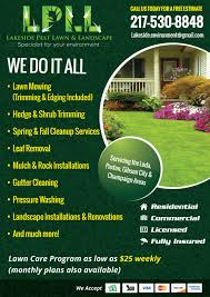 Sample Flyers For Landscaping Business Lawn Care Flyer Template Free 008 Ideas Business Plans