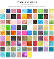2018 Color Charts