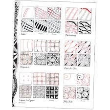 Zentangle Patterns Step By Step Unique Decorating Design