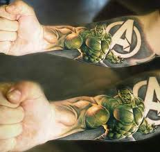 Hulk Tattoo Tattoo Tatuaje De Hulk Tatuajes Brazo A Tatuaje
