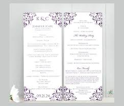 Free Microsoft Word Wedding Program Template Word Wedding Program Template Contemporary Styles Catholic