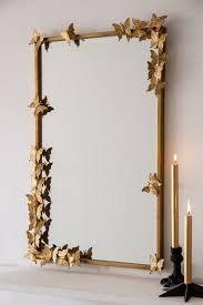 erfly mirror gold mirror wall