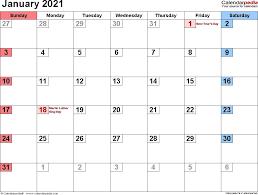 Choose the best 2021 calendar that can print for you. January 2021 Calendar Word In 2021 Printable Calendar Design Calendar Word Calendar Template