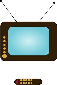 tv clipart black and white. watching tv clipart black and white free 2
