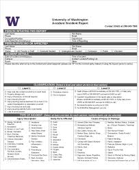 10 Sample Accident Incident Reports Docs Pdf Pages