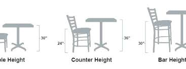 how tall are counter height stools. How Tall Is Counter Height Standard Endearing Are Bar Stools A