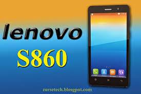 Lenovo's latest smartphone lenovo s860 ...