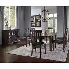gray dining room table. Barnes 8-piece Dining Set Gray Room Table 6