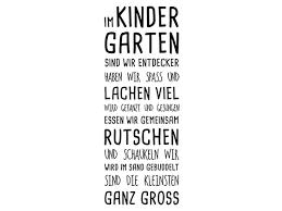 Wandtattoo Im Kindergarten Spruchband Wandtattoode