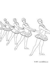 Ballet Dancer Coloring Pages Gregory Color