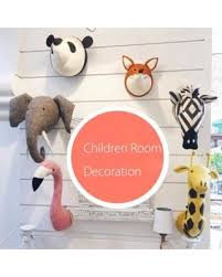 3d felt plush animal heads wall decor hanging art children kid room decoration stuffed toys christmas  on wall art toddler room with snag these summer sales 49 off 3d felt plush animal heads wall
