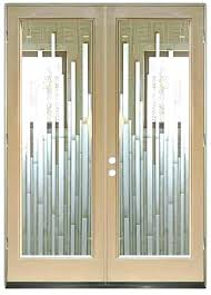 entry doors with glass etched glass front doors a frosted glass front entry door etched glass