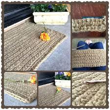 diy burlap rug i love my new rug jute rugs crochet diy braided jute rug