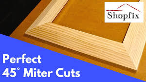 How to <b>Cut</b> Perfect Miters for Picture <b>Frames</b> - YouTube