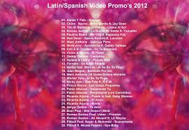 Latin Charts 2012 Details About New Promo Latin Hits Dvd Hot Latin Video Hits 2012 Best Spanish Mix On Ebay